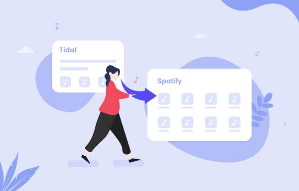 transfer tidal music to spotify